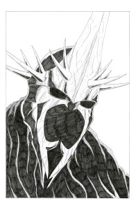 Witch King I pencil